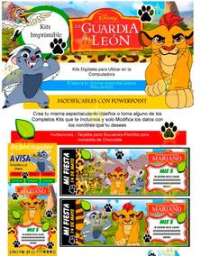 La Y Kit Tarjetas Del Mas Guardia Diseña Imprimible Leon nNwm80