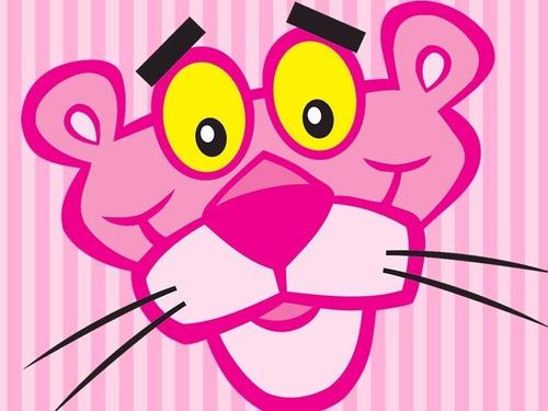 kit imprimible la pantera rosa diseña tarjetas cumpleanos #1