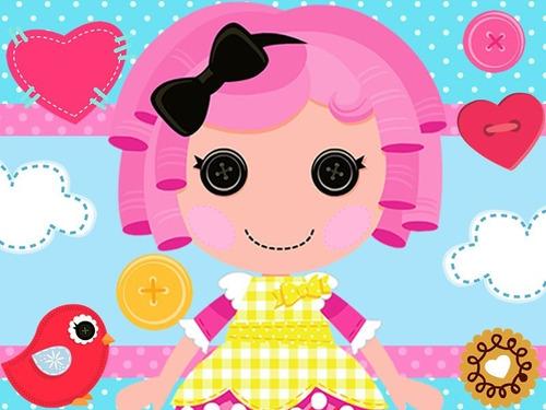 kit imprimible lalaloopsy muñecas de trapo diseñá gratis!