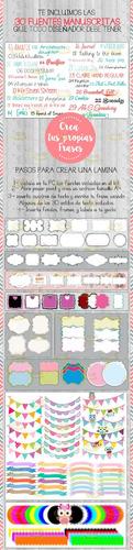 kit imprimible láminas con frases para para hacer cuadritos