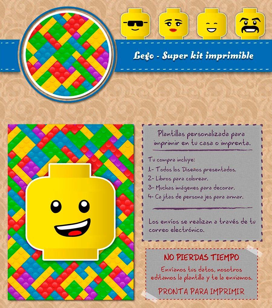 Encantador Imágenes De Lego Para Imprimir Gratis Fotos - Dibujos ...
