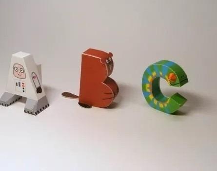 kit imprimible letras en 3d + regalo (2 x 1)