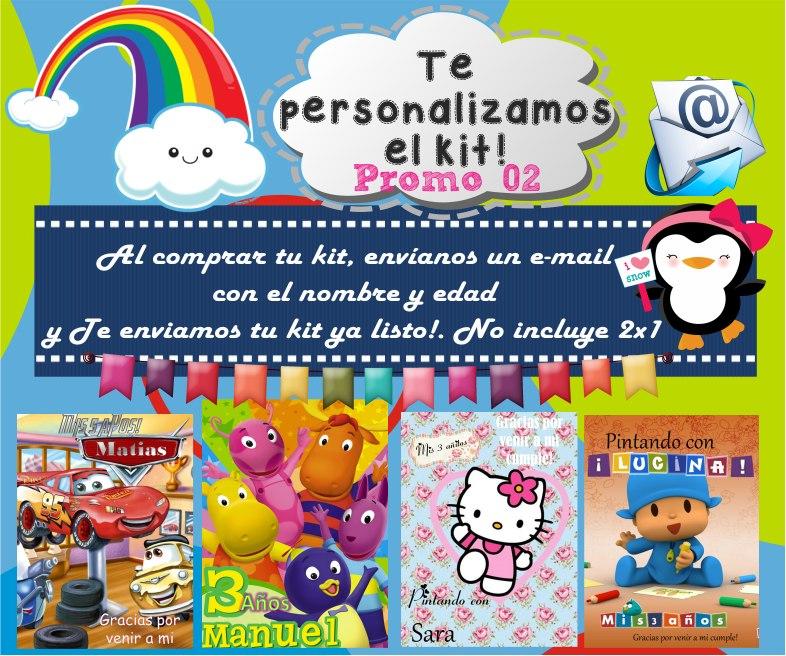 Kit Imprimible Libritos Para Colorear Pintar Editables - $ 65,00 en ...