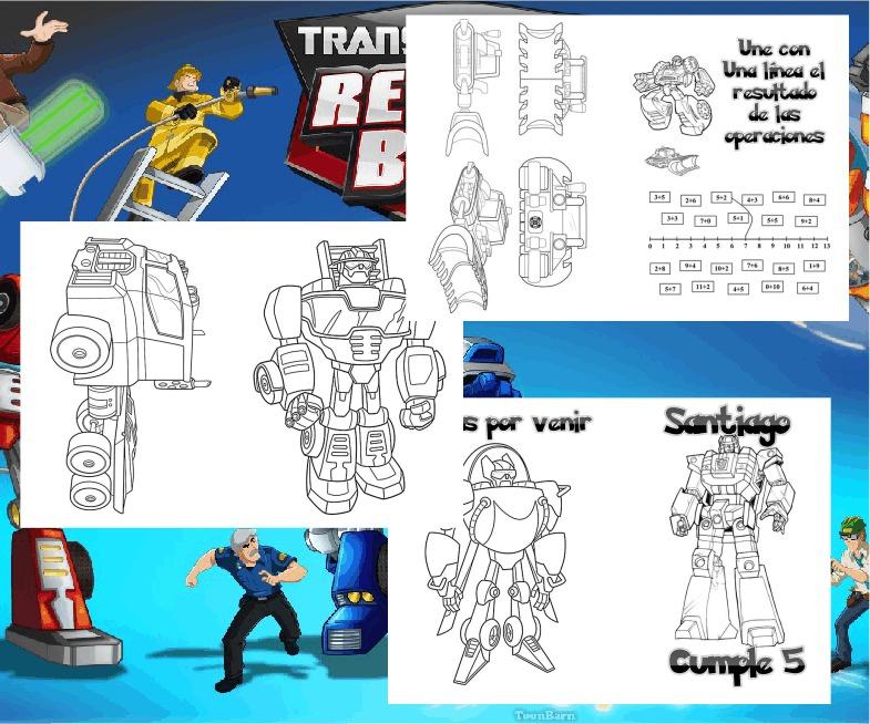 Rescue Bots Para Colorear Online - tongawale.com
