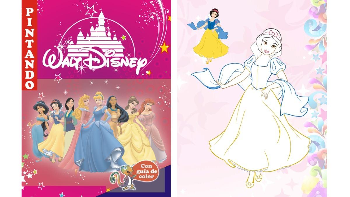 Kit Imprimible Libro Para Pintar Colorear Princesas - 2x1 - $ 9,99 ...