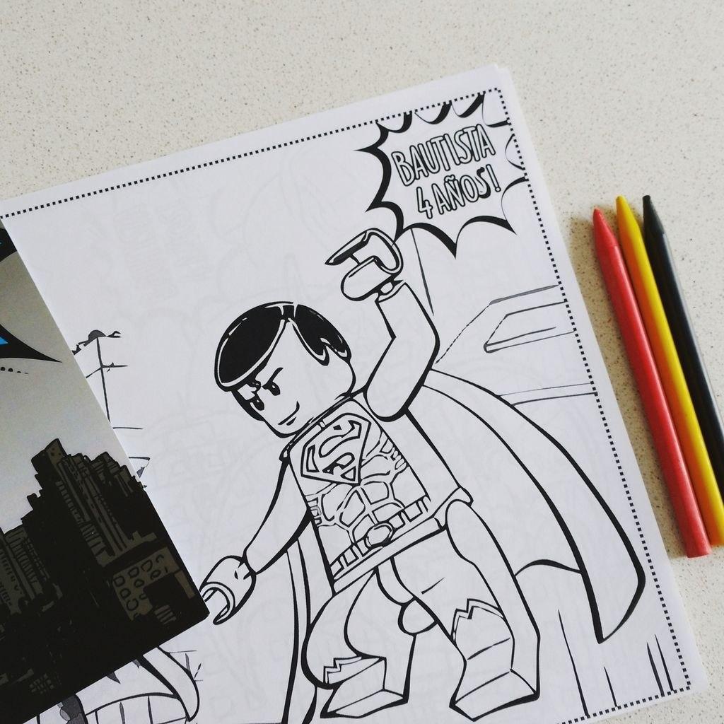 Excelente Libro Para Colorear Lego Regalo - Ideas Para Colorear ...