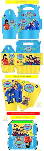 kit imprimible los imaginadores diseñá tarjetas golosinas