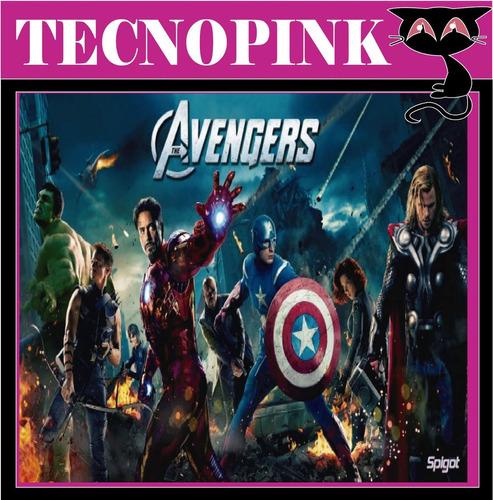 kit imprimible los vengadores avengers(6en1)+candybar+regalo