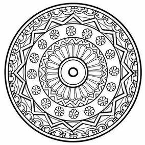 Kit Imprimible Mandalas Para Pintar Pdf