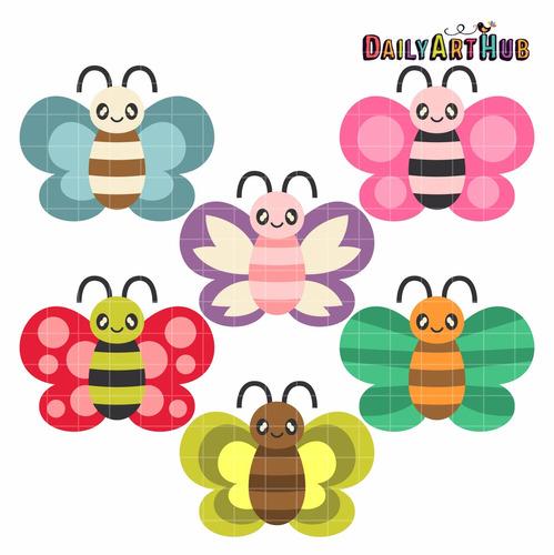 kit imprimible mariposas imagenes clipart cod 12