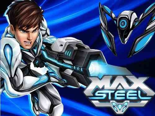 kit imprimible max steel candy bar golosinas tarjetas