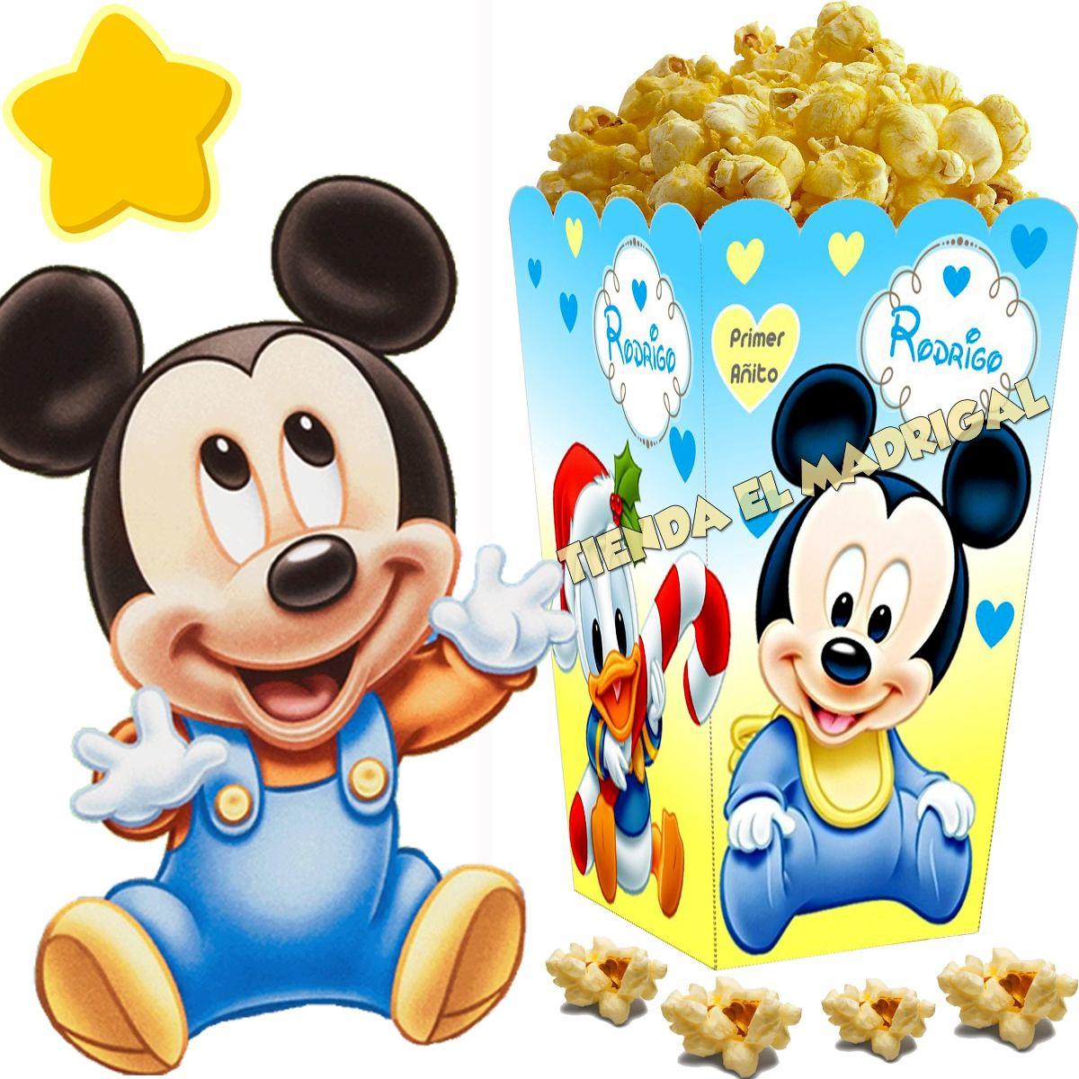 kit imprimible mickey bebe disney candy bar y cotillon 2x1 5490 en mercado libre - Bebe Disney