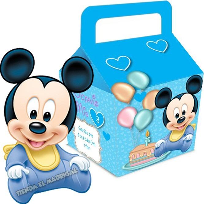 kit imprimible mickey bebe disney cumpleaos cotillon 2x1 - Disney Bebe