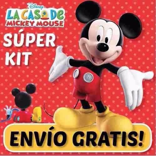 kit imprimible mickey de la casa de mickey mouse + regalos