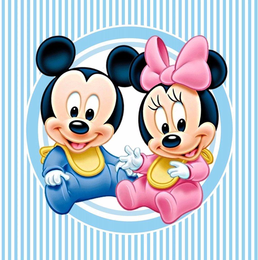 Kit imprimible mickey y minnie bebe decoraciones cajitas en mercado libre - Image minnie bebe ...