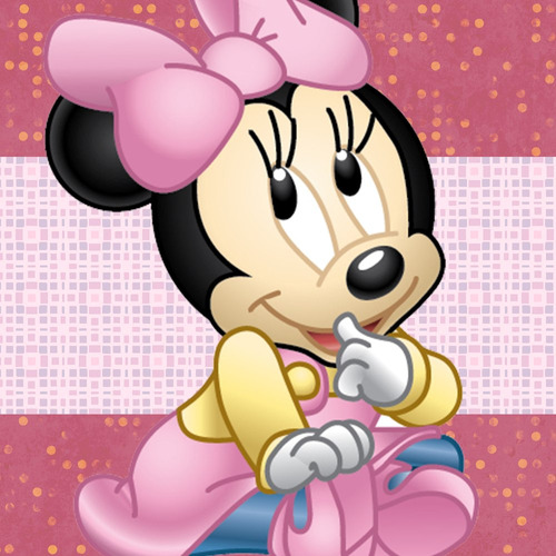 kit imprimible minnie bebe tarjetas candy bar calendario