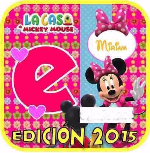 kit imprimible minnie mouse rosa / fucsia fiesta cumpleaños