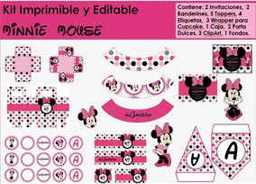 Mouse La Kit Exploradora Minnie Y Dora Imprimible rCBthxsQd