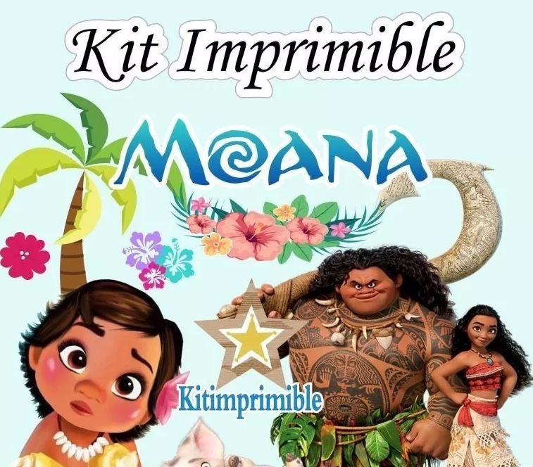 Kit Imprimible Moana Candy Bar Etiquetas Cajas Marcos - $ 6.500 en ...