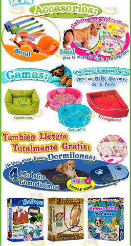 kit imprimible moldes y patrones ropa para perros confeccion