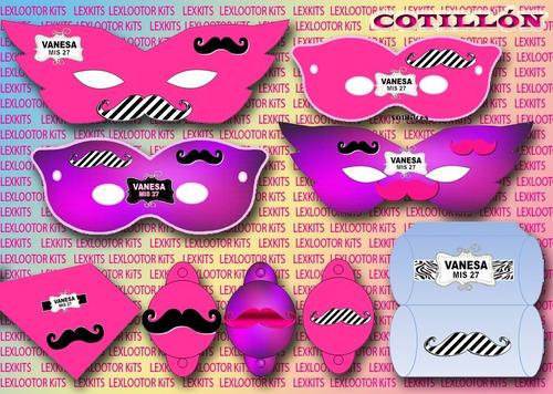 kit imprimible mostachos bigotes candy bar tarjetas cumple