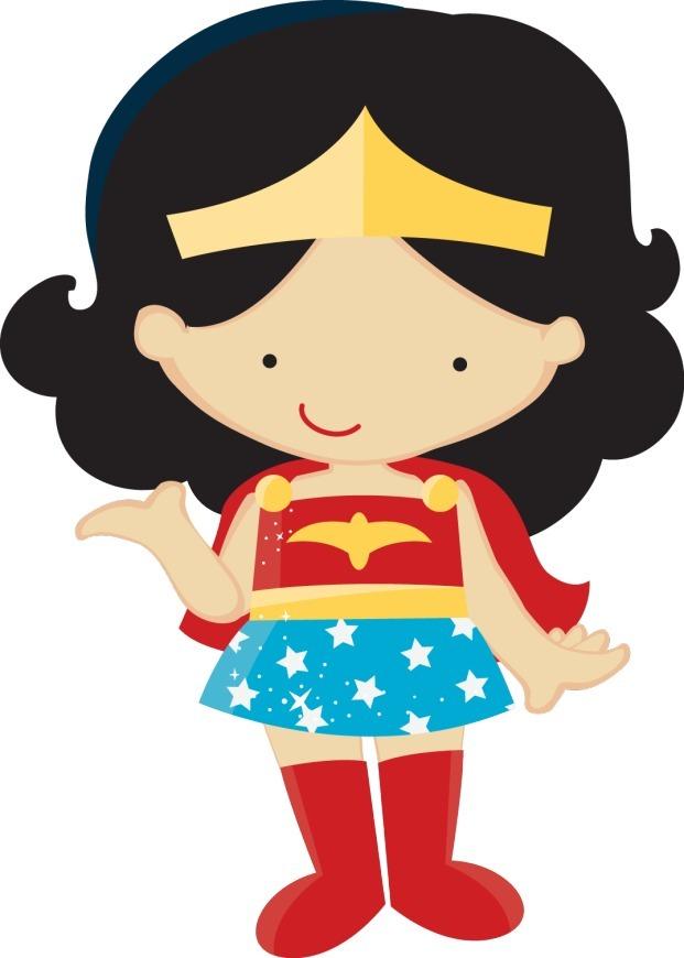 Kit Imprimible Mujer Maravilla - $ 300,00 en Mercado Libre