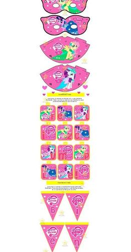 kit imprimible my little pony equestria girls tarjetas y mas