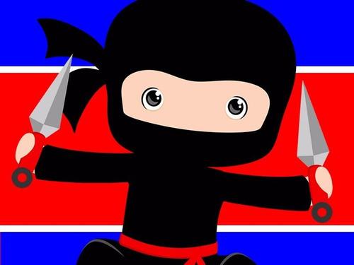 kit imprimible ninjas candy bar diseña tarjetas y mas