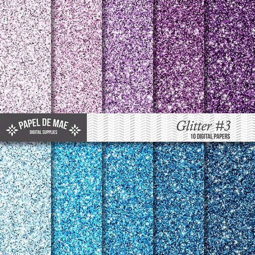 kit imprimible pack fondos brillo glitter c047