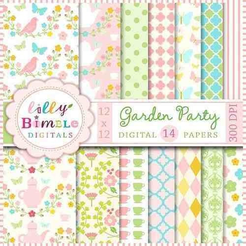 kit imprimible pack fondos shabby chic 8 clipart