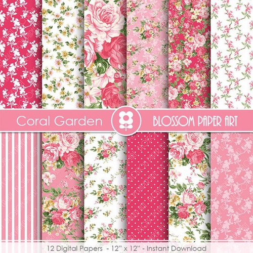 kit imprimible pack fondos shabby chic clipart cod 95