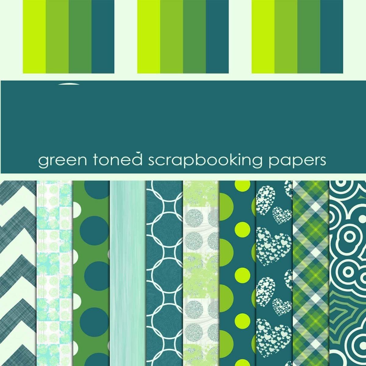 Kit Imprimible Pack Fondos Tonos Verde Blanco Azul 6 Imagene 35 - Tonos-verde