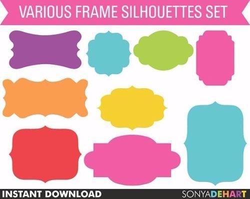 kit imprimible pack frames