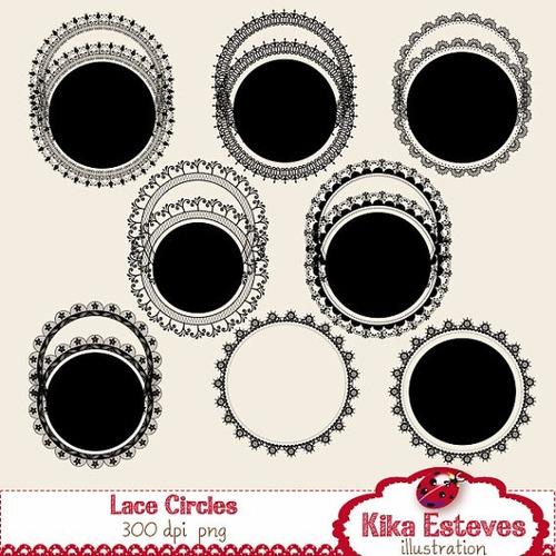 kit imprimible pack frames etiquetas label clipart cod103