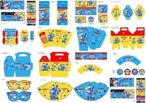 kit imprimible para tu fiesta de doctora juguetes