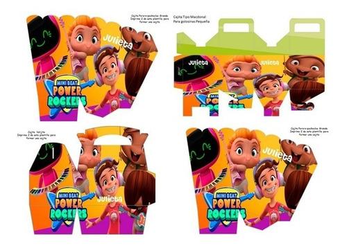 kit imprimible para tu fiesta de mini beat power rockers