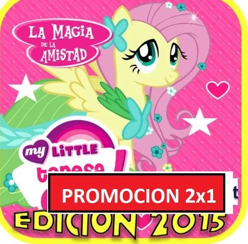 kit imprimible para tu fiesta de my little pony 2x1