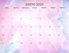 Calendario 2020 Argentina Para Imprimir Pdf.Kit Imprimible Pdf Calendarios Almanaques 2020