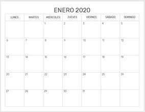 Calendario Agenda 2020 Para Imprimir.Kit Imprimible Planificadores Mensuales Y Agenda 2020 Pdf