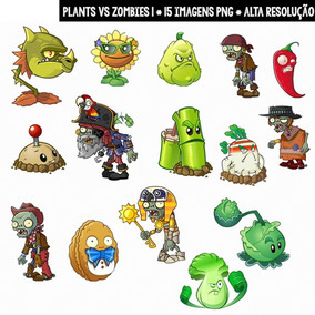 Kit Imprimible Plants Vs Zombies 44 Imagenes Clipart