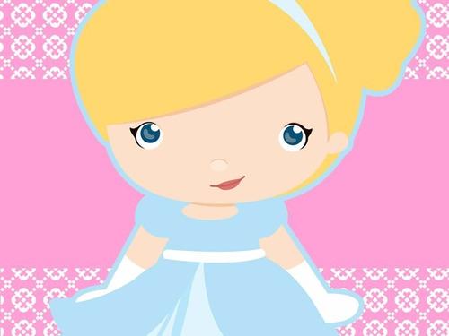 kit imprimible princesa cenicienta baby tarjetas y mas 1