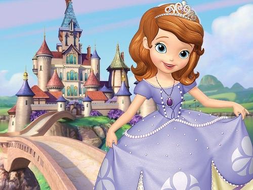 kit imprimible princesa sofia candy bar tarjetas y mas #1