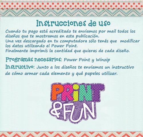 kit imprimible princesa sofía - fiesta - candy bar 2x1