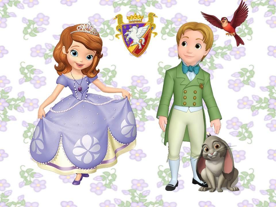 Princesita Sofia: decoración de fiesta - Todo Bonito