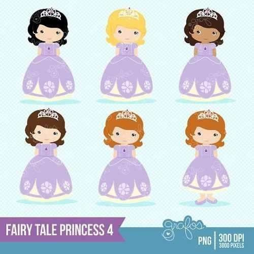 kit imprimible princesita sofia 2 imagenes clipart
