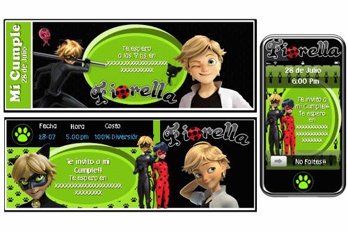 kit imprimible prodigiosa personalizado 100% ladybug chat no