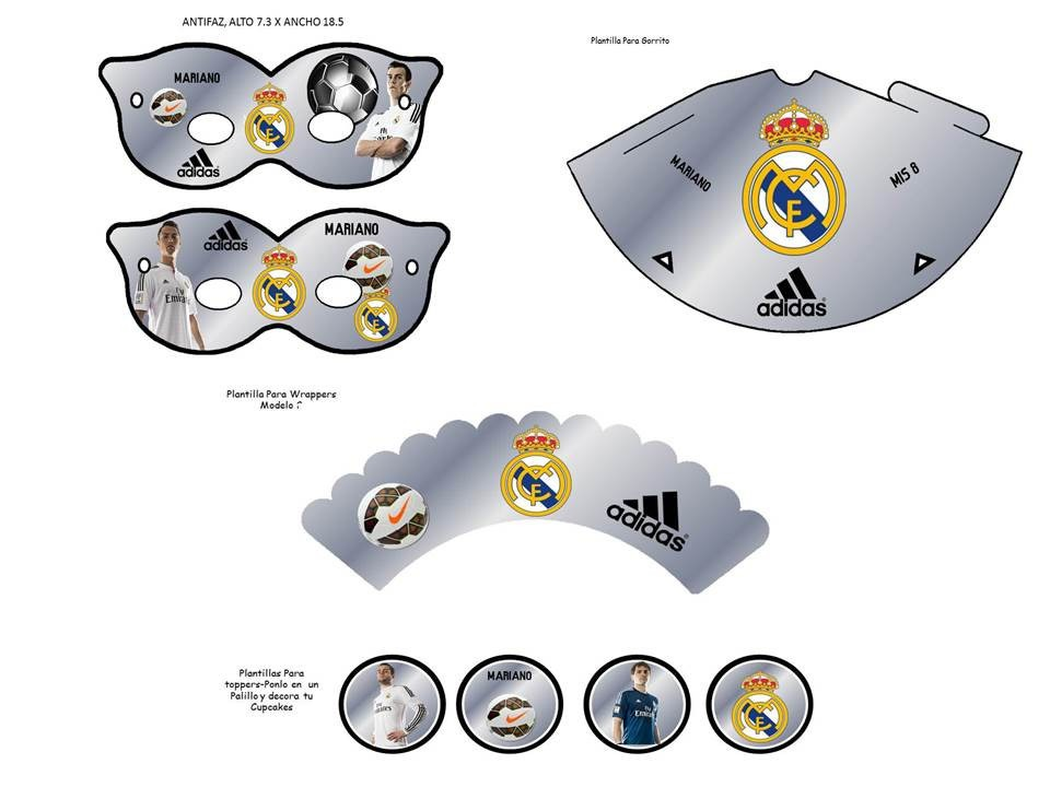 Kit imprimible real madrid tarjeta decoracion fiestas globos bs kit imprimible real madrid tarjeta decoracion fiestas globos cargando zoom altavistaventures Image collections