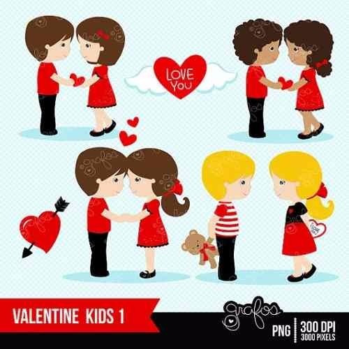 kit imprimible san valentin corazones 2 imagenes clipart