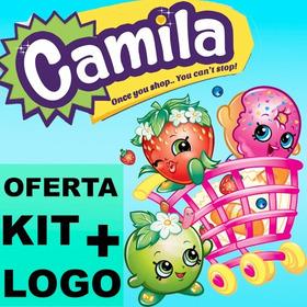 Kit Imprimible Shopkins + Logo + Candy Bar