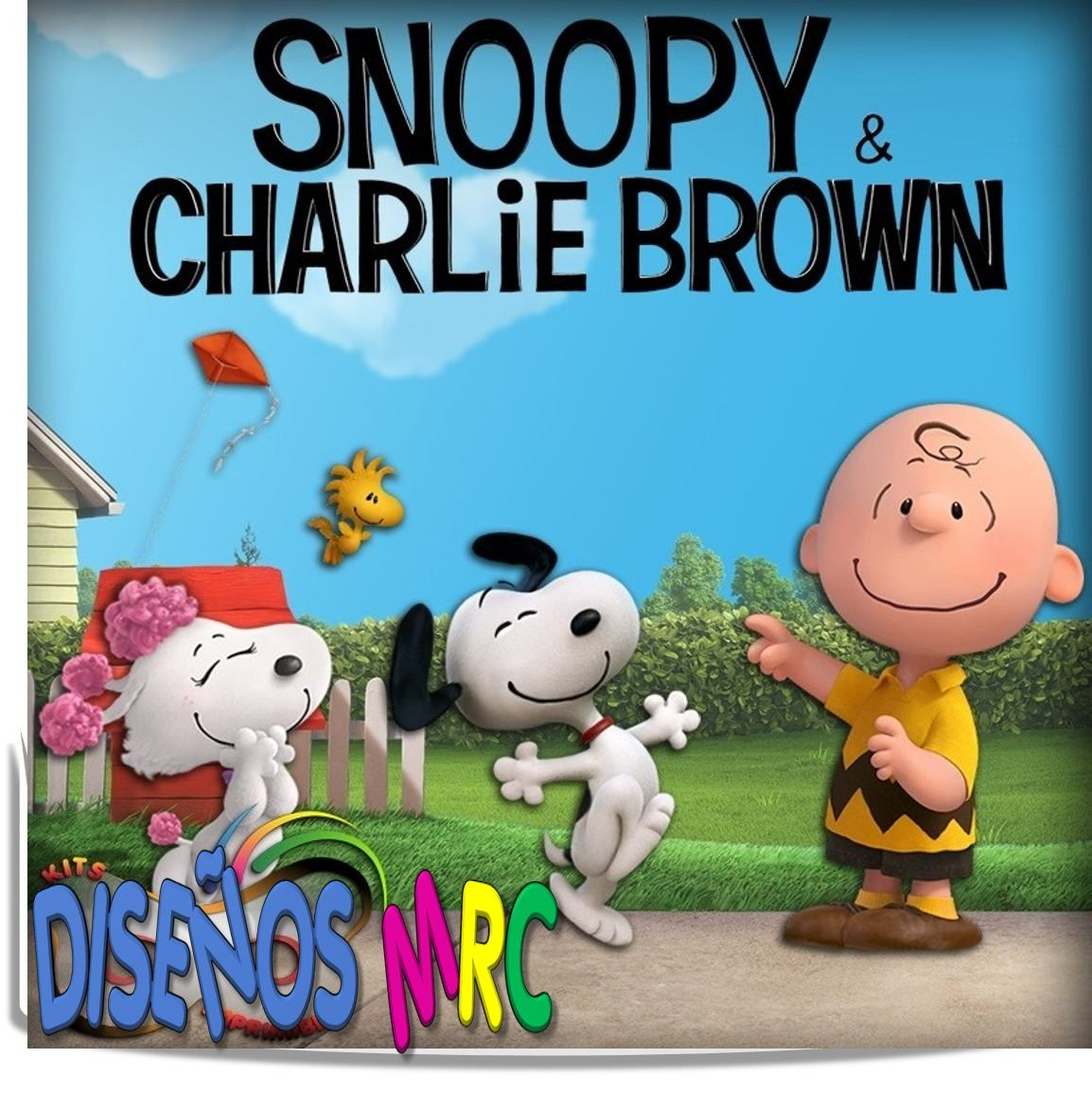 Kit Imprimible Snoopy & Charlie Brown Cumpleaños + Candy Bar ...